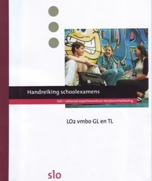 Cover <em>Handreiking schoolexamens</em>.