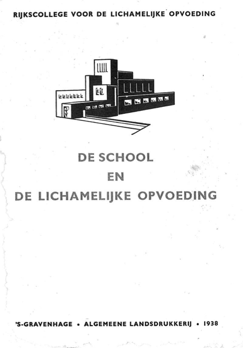 Cover School en LO (1938), rapport over de noodzaak van LO.