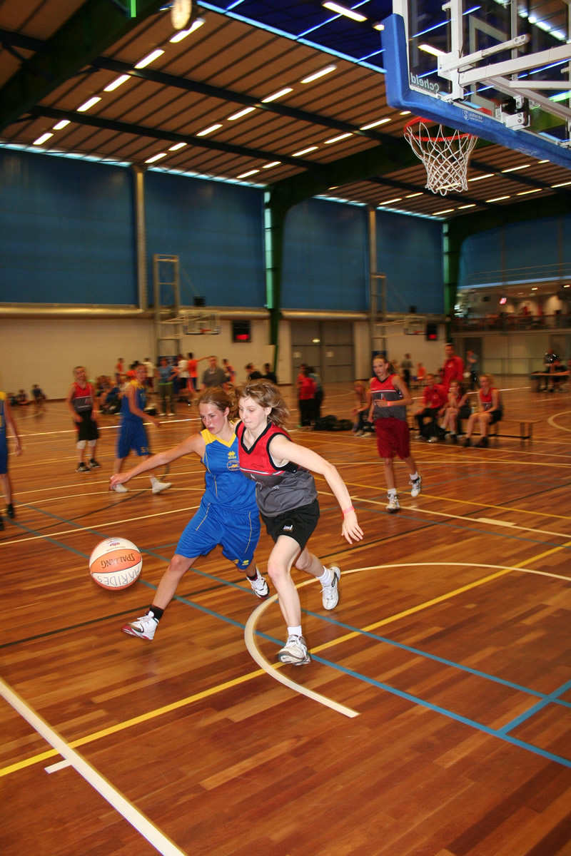 Mission Olympic: basketbal.