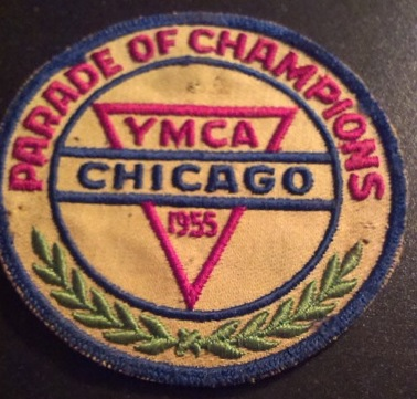 Embleem YMCA (Chicago 1955, parade of champions).